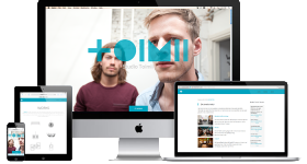 responsive website Studio TOIMII